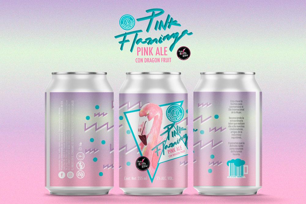 Pink Flaminga, una cerveza que apoya a la mujer de medio cervecero