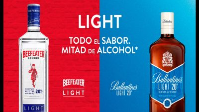 Whisky y Ginebra light, una tendencia en destilados