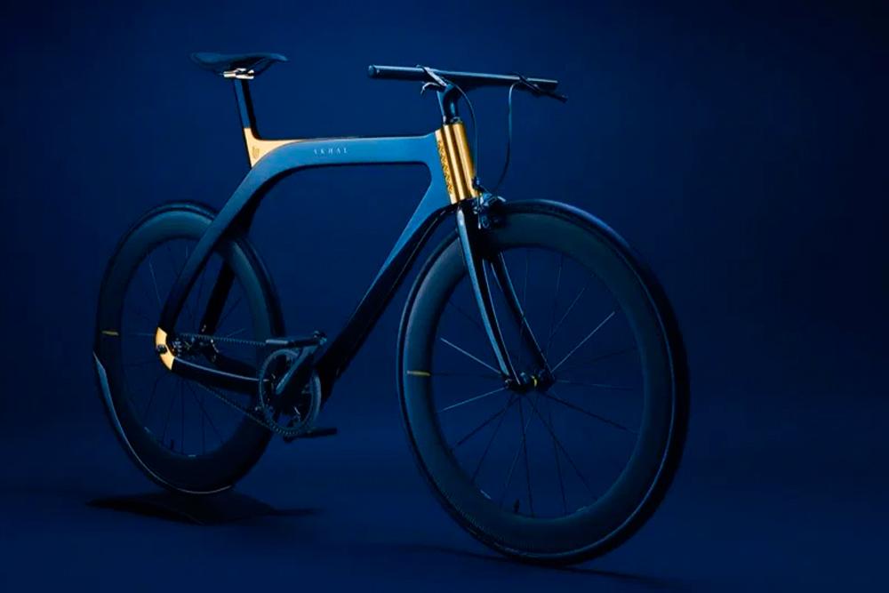 Akhal Sheen, una bicicleta con oro de 24 quilates