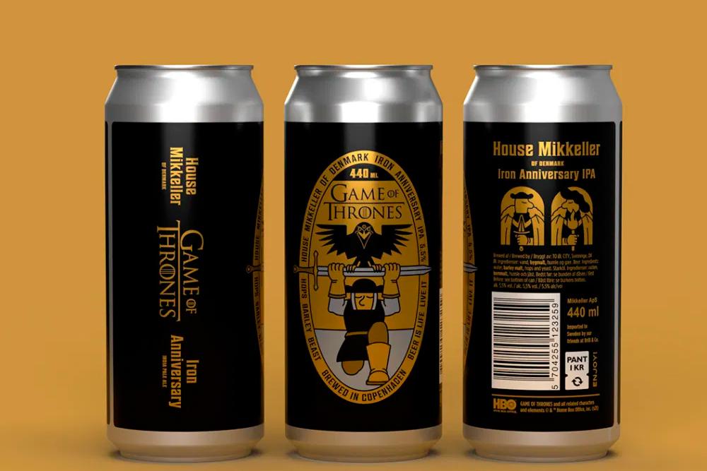 Game of Thrones celebra sus 10 años con ¡cerveza!