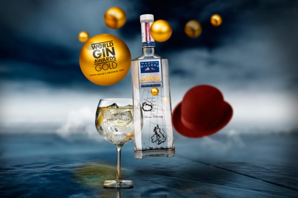 Martin Miller's Gin gana oro en The World Gin Awards