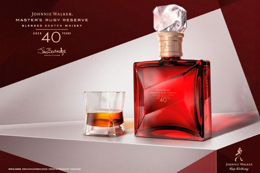 La joya de Johnnie Walker: Master´s Ruby Reserve 40 YO