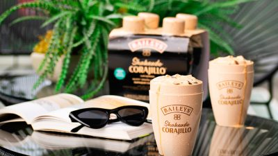 ¡Ready to drink! Nuevo Baileys shakeado Corajillo
