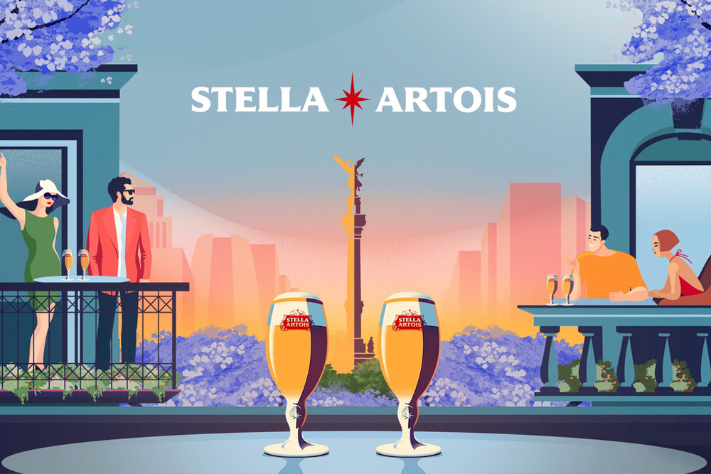 Stella Artois adopta a las icónicas jacarandas de la CDMX