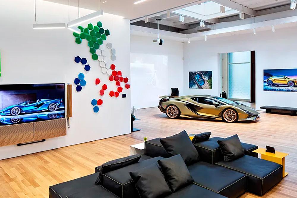 Lamborghini inaugura su nuevo VIP Lounge en Nueva York
