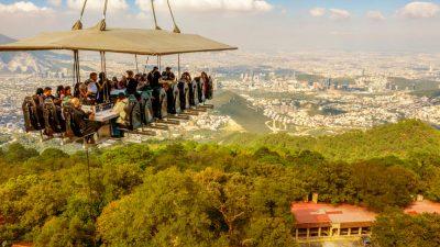 Tequila Mayorazgo Cristalino se va a las alturas con Dinner in the Sky