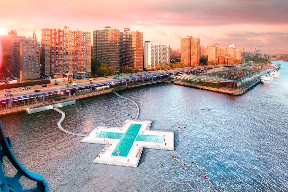 +Pool la nueva piscina del East River, NY