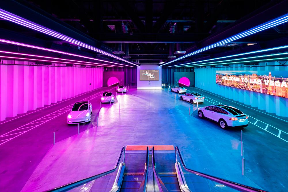 Vegas Loop, el tunel de Elon Musk, ya fue probado por pasajeros