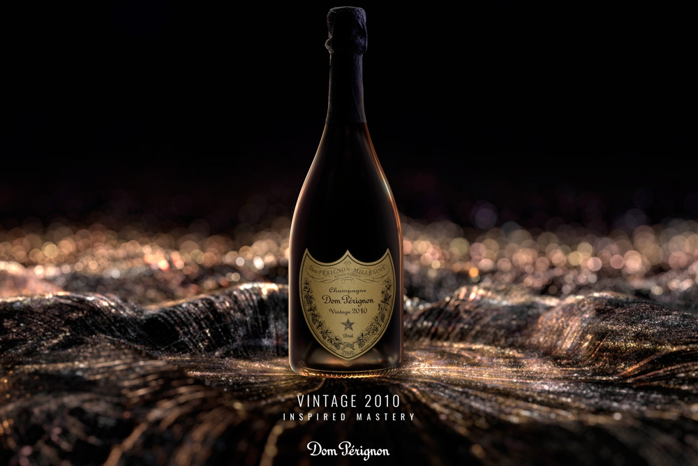 Dom Pérignon 2010, inspiración y maestría para crear algo único