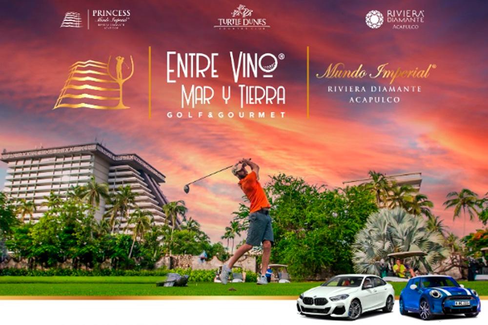 Inicia el Festival Entre Vino, Mar y Tierra, Golf & Gourmet
