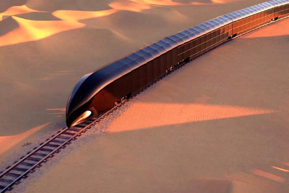 G Train: el tren inteligente hecho de vidrio