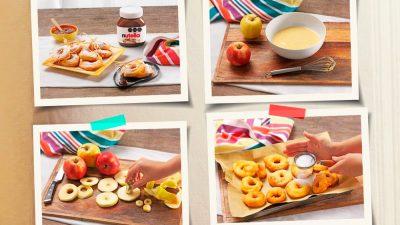 Recetas familiares con Nutella para preparar estas vacaciones