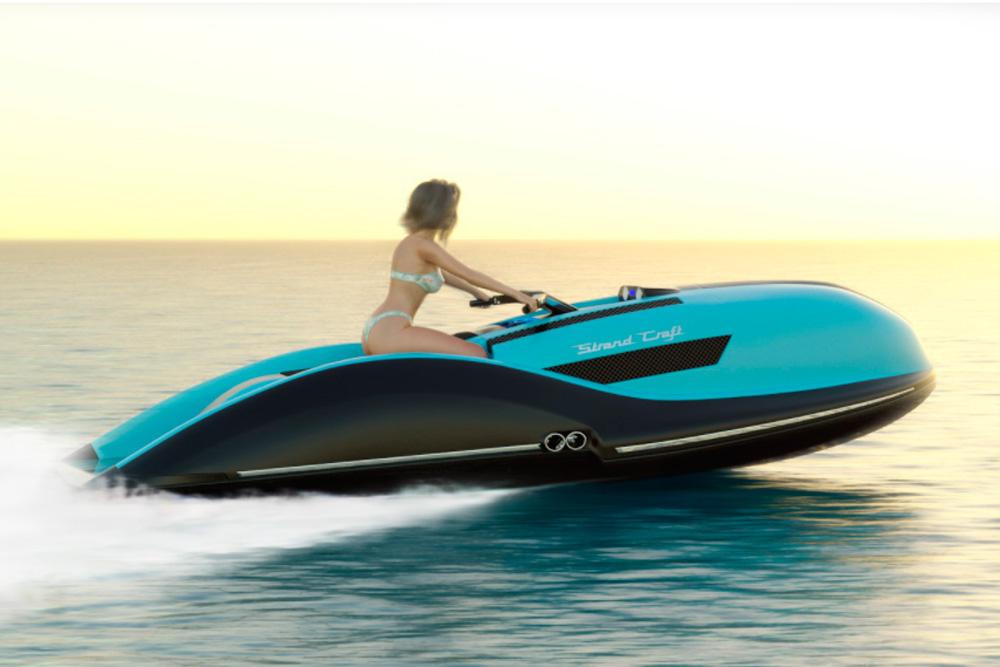 Strand Craft V8 Daytona GT es la moto de agua que elevará los deportes acuáticos