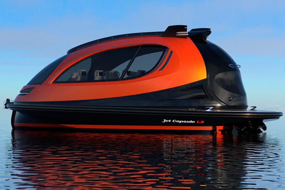 Jet Capsule, ¿el futuro de los yates?