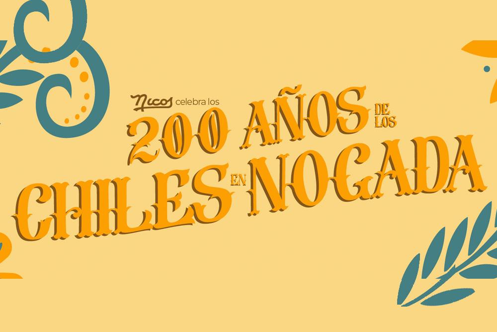 Nicos está listo para celebrar 200 años de Chiles en Nogada