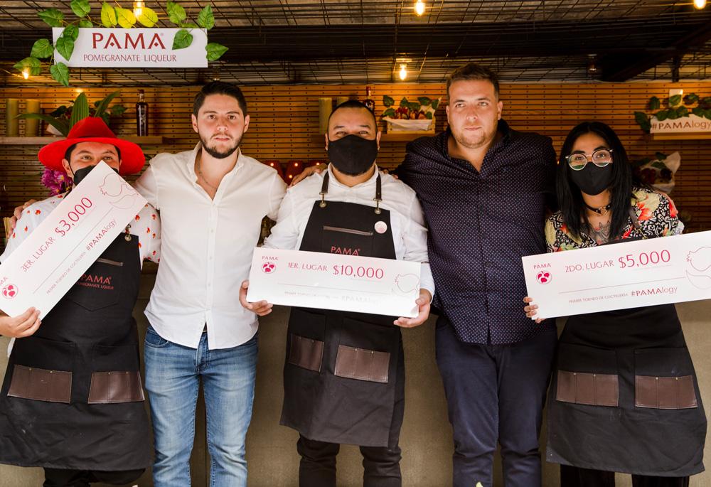 Los ganadores de PAMALOGY, el torneo híbrido de bartenders