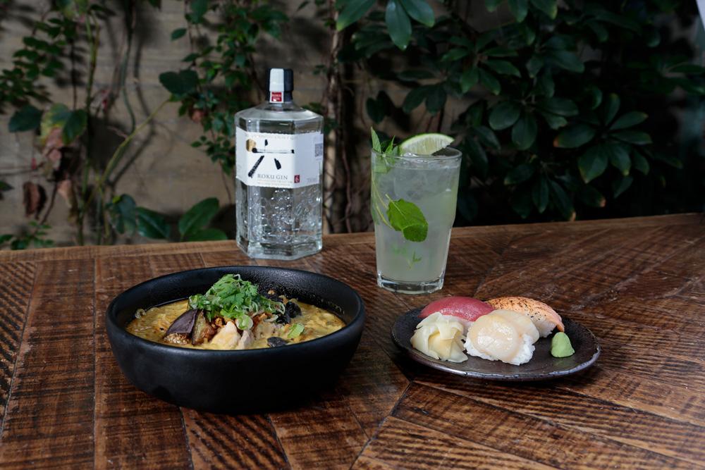 Roku Gin logra la fusión perfecta de sabores con KOKU